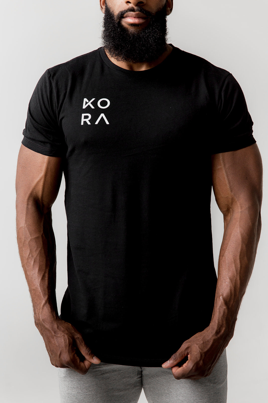 KORA Team Back T - Black