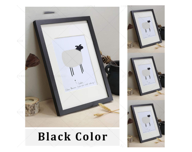 Salazons™ Nordic Simple Wooden Photo Frame