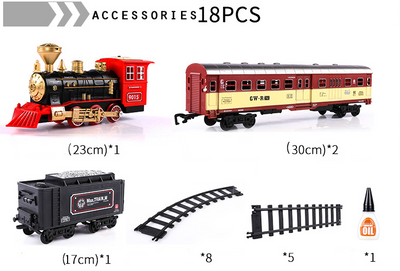 Salazons™ Classic Motorized Train Set