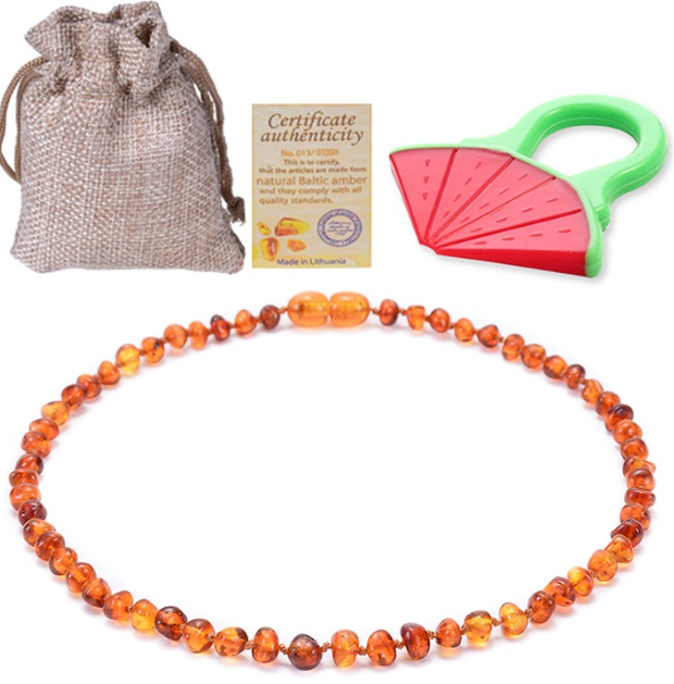 Salazons™ Baltic Ambers Teething Necklace/Bracelet Highest Quality Certified Polishing Ambers