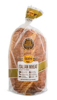2 Packs of Izzio 24oz Sliced: ITALIAN WHEAT (Free Shipping!)
