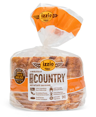 4 Packs of Izzio 8 Slice: ITALIAN COUNTRY (Free Shipping!)