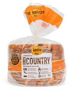 4 Packs of Izzio 8 Slice: ITALIAN COUNTRY (2Day FedEx Express FREE Shipping!)