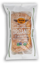 NEW!! 2 Packs of Izzio ORGANIC CIABATTA Take & Bake (2Day FedEx Express FREE Shipping!)