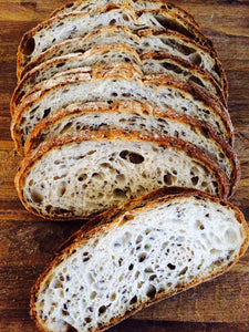 2 Packs of Izzio Half Boule 26oz Sliced: PANE AL LINO - The Flax Seeds Bread (Free Shipping!)