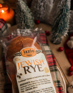 Holiday Breads: 3 x Traditional Jewish Rye - 2Day FedEx Express FREE Shipping!