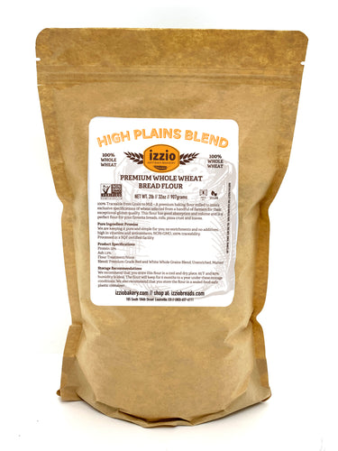 4 Packs of Izzio Premium Whole Wheat Bread Flour 2LB (2Day FedEx Express FREE Shipping!)