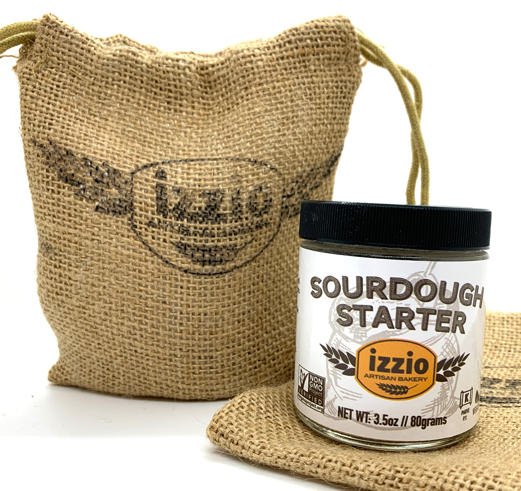 Izzio Sourdough Starter 3.5oz - 2Day FedEx Express FREE Shipping!