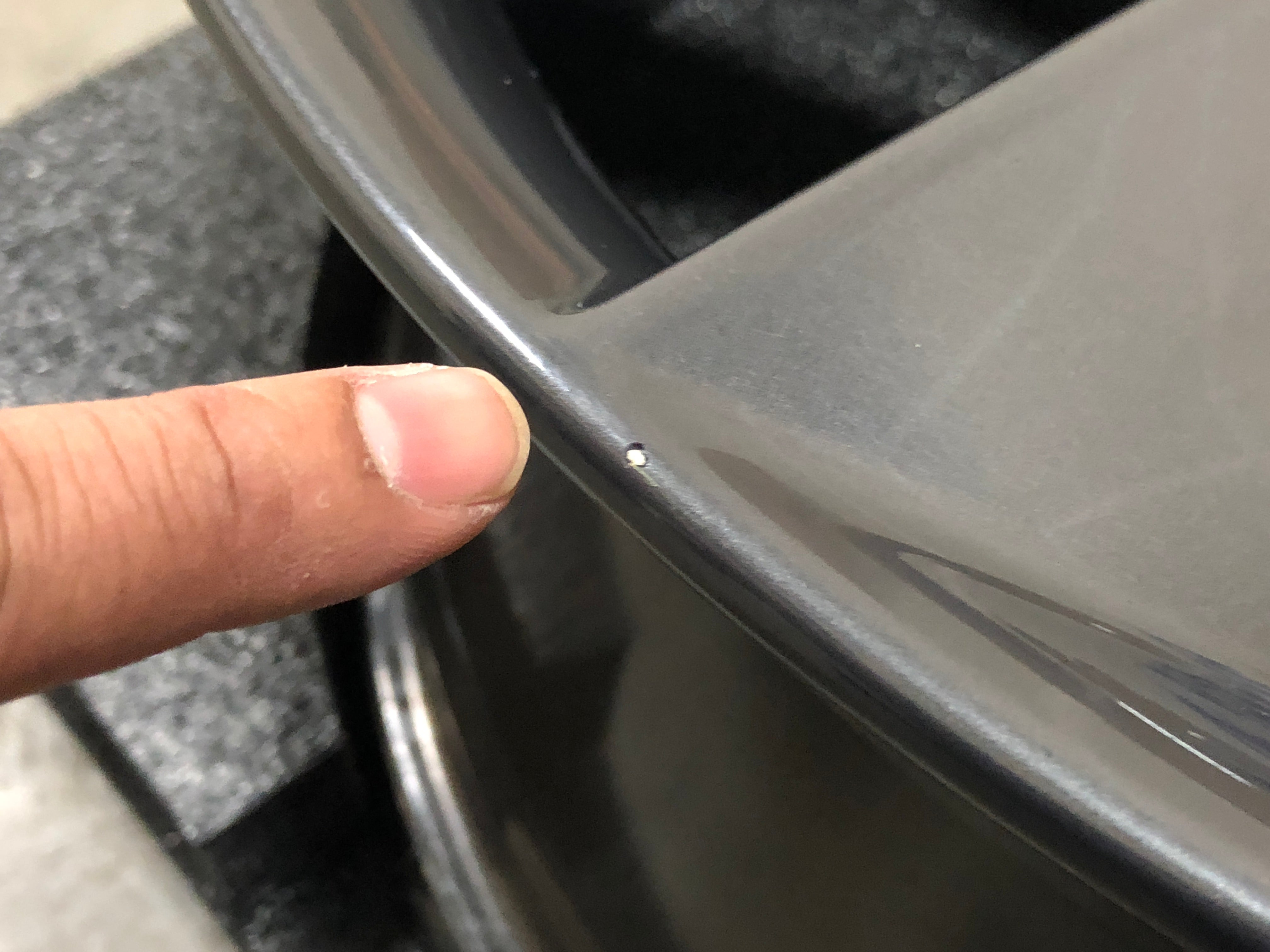 Tesla OEM Wheel Touch Up Paint