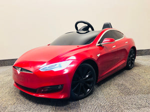Tesla Model S Kids Battery Powered Ride On Car
