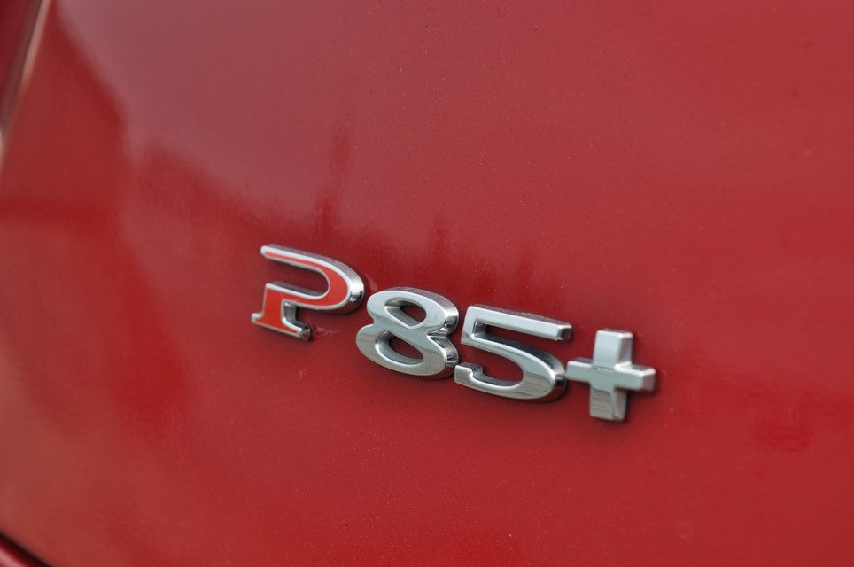 P85+ Rear Badge