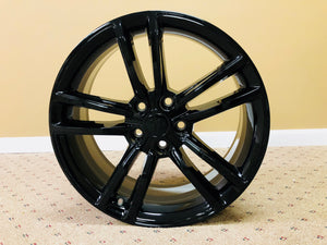 "Tesla 19"" Black Split 5 Wheel Set"