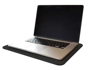 Black Leather Desk Pad