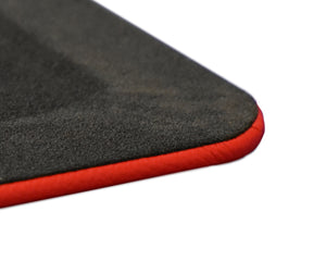 Rosa Red Leather Desk Pad