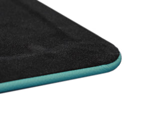 Turquoise Leather Desk Pad