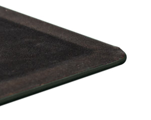 Forest Green Leather Desk Pad