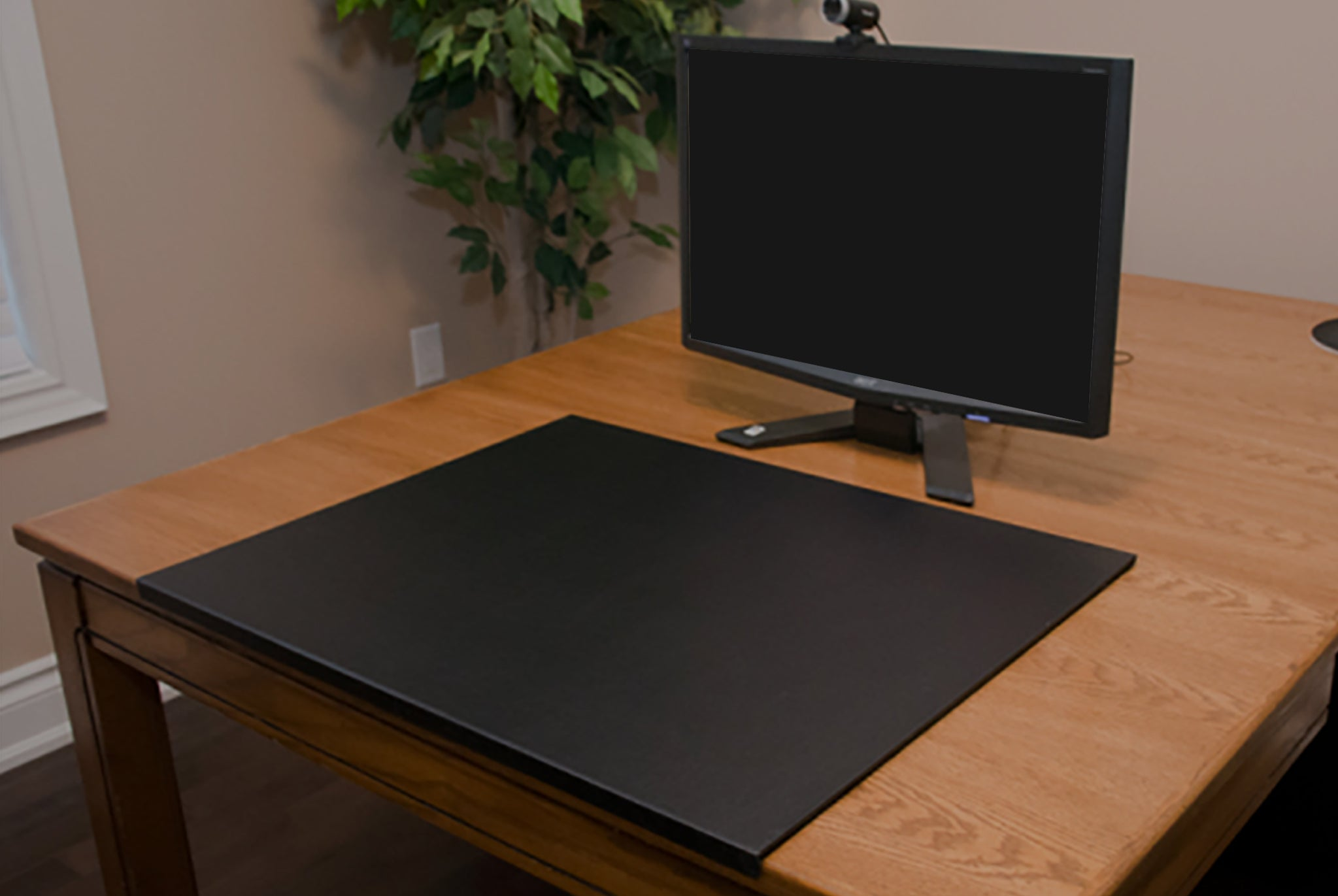 Edge Leather Desk Pad Leather Office Accessories