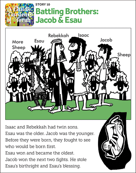 Child's Garden of Torah: Battling Brothers-Jacob and Esau