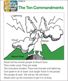 Child's Garden of Torah: Ten Commandments