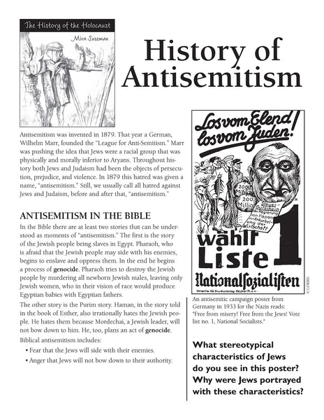 History of the Holocaust: History of Antisemitism