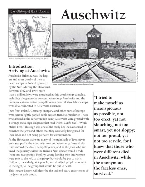 History of the Holocaust: Auschwitz
