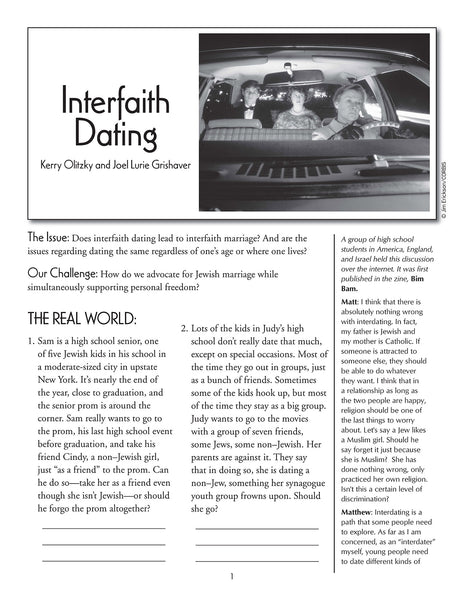 Interfaith Dating