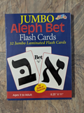 Jumbo Alef Bet Flash Cards