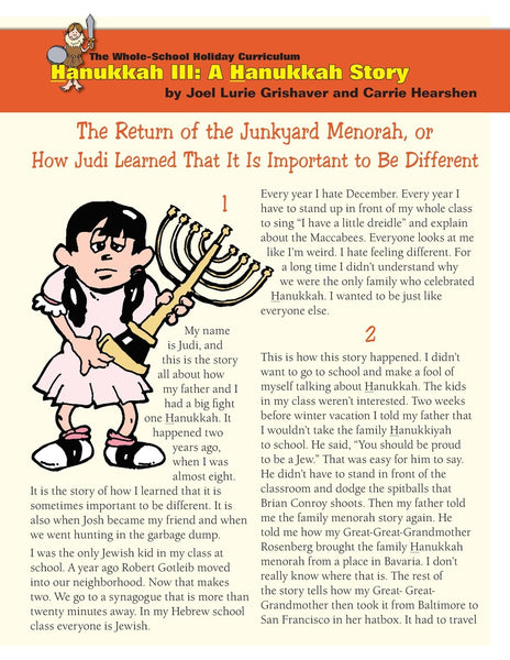Whole School Hanukkah 3: A Hanukkah Story