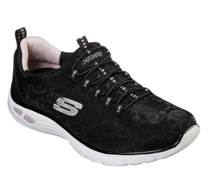 Skechers Relaxed Fit Empire D'Lux Black Leopard