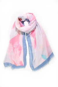 Rosa and Skye Watercolour Scarf