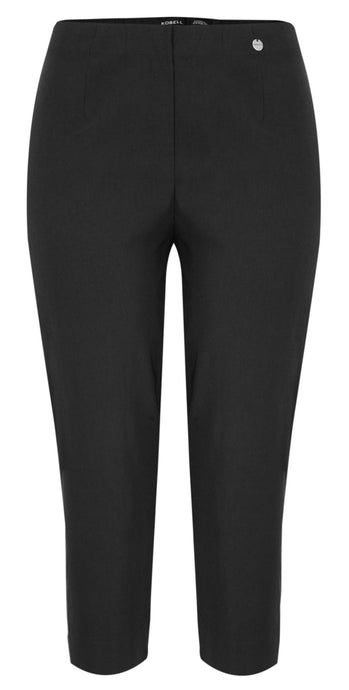 Robell Slim Fit Marie 07 Trouser Nero