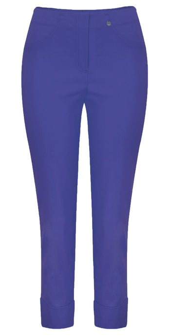 Robell Bella 09 Slim Fit Trouser Cobalt