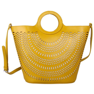 Laser Cut Citrus Tote Bag