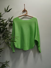 Paloma Ribbed Batwing Fine Knit Jumper