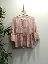Stephania Gypsy Chiffon Top