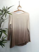 Leanne Mocha Asymmetrical Ruched Top