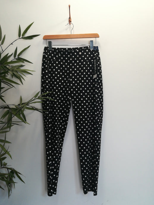 Robell Bella 09 Polka Dot Trousers Black
