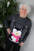 Christmas Penguin Jumper