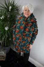 Etna Textured Flower Coat