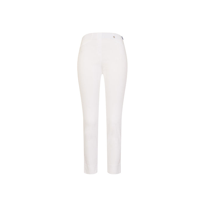Robell Rose 09 Super Slim Fit Trouser Bianco
