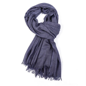 Plain Denim Scarf