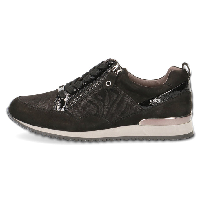 Caprice Black Zebra Trainer