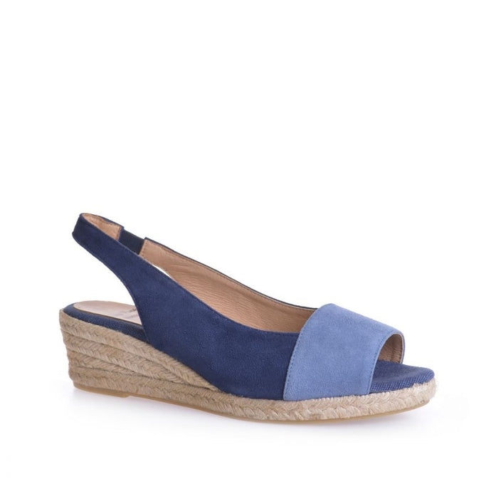 Toni Pons Margot-A Wedge Espadrille - Denim/Navy