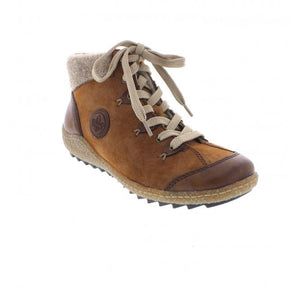 Rieker Brown Lace Boot
