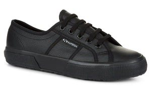 Superga 2750 Total Black Leather