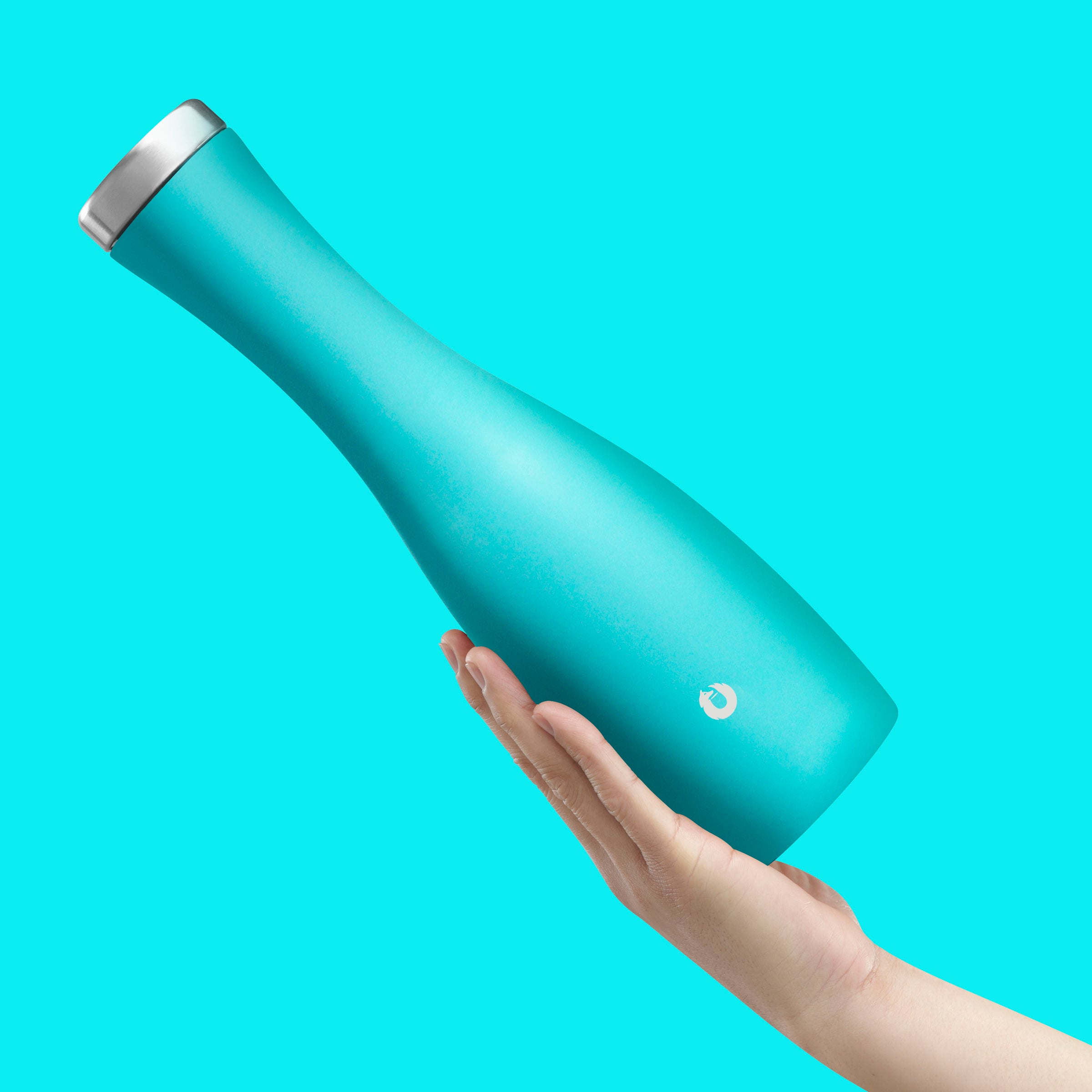 Stainless Steel Carafe in Teal - Easy Pour