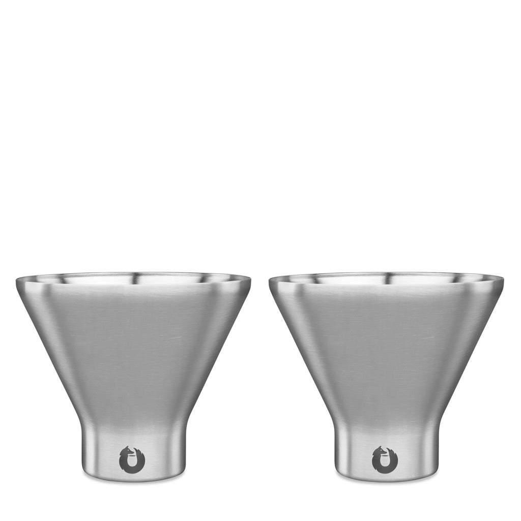 Steel: Stainless Steel Martini Glass