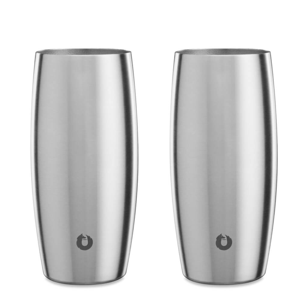 Steel: Stainless Steel Beer Glass