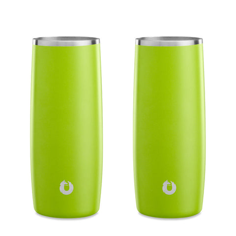 Stainless Steel Highball Glass in Lime- Perfect Fit