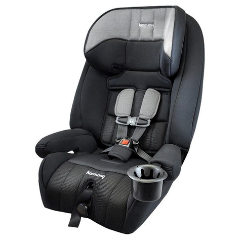Harmony 0302008HGY Defender 360° Convertible 3-in-1 Booster Car Seat - Heather Grey (Brand New)